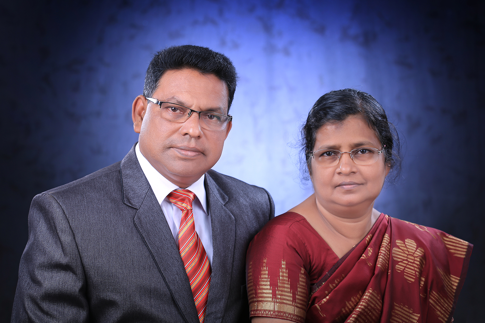 Rev Dharmadas and wife